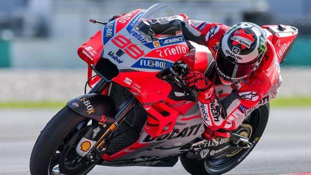 Jorge Lorenzo gagal finis di MotoGP Qatar 2018.