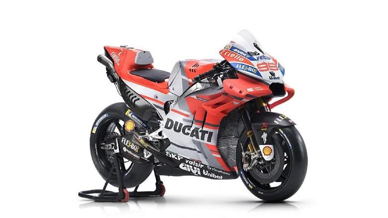 Profil Tunggangan Dovizioso dan Lorenzo Foto: dok. Ducati