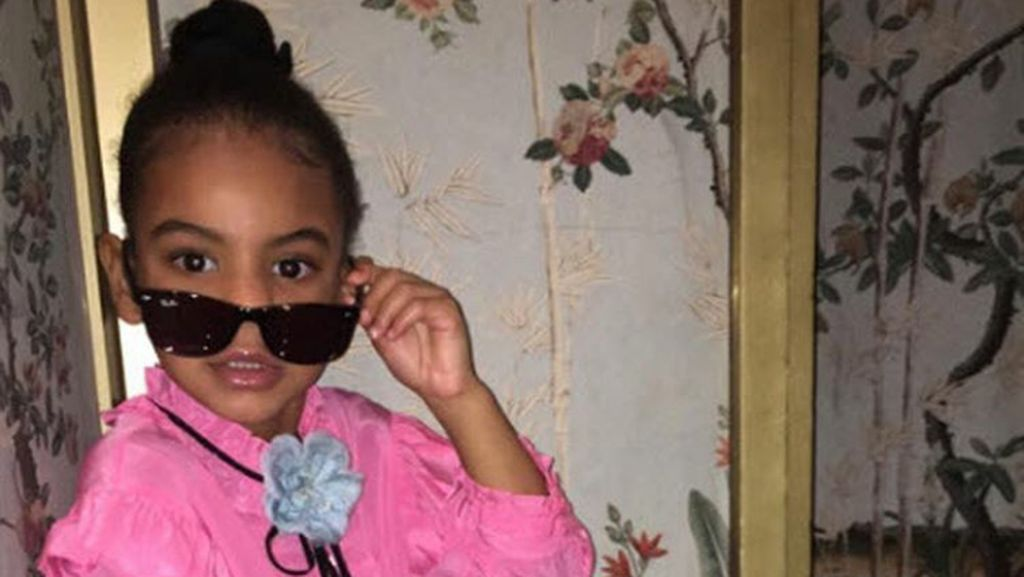 Ekspresi Blue Ivy Lihat Video Seksi Beyonce dan Jay-Z