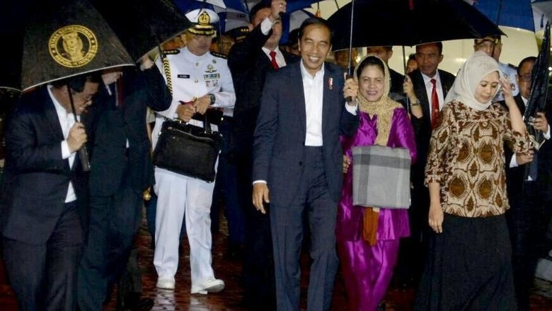 Usai Kunjungi Lima Negara, Jokowi Tiba di Tanah Air