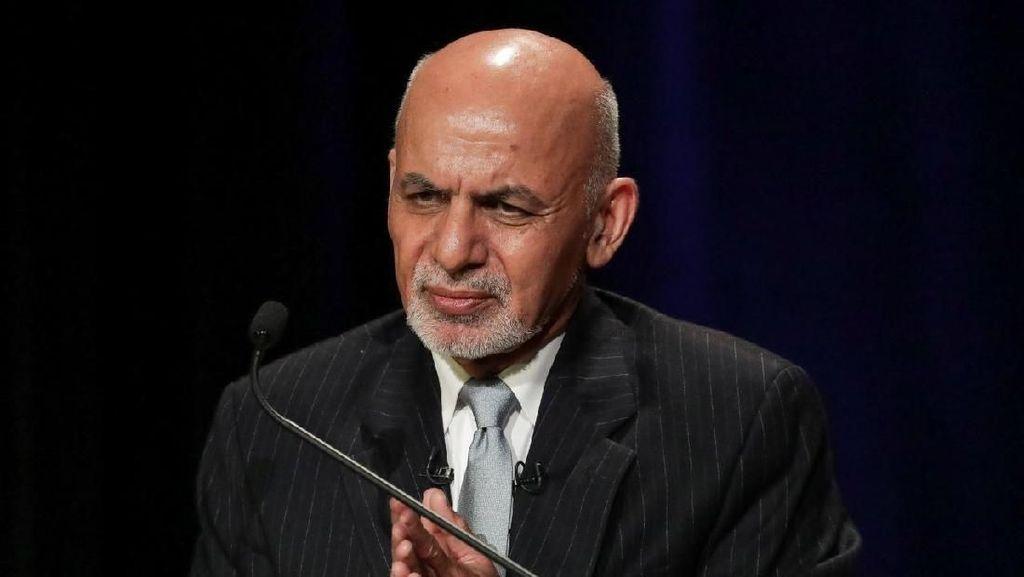 Komisi Pemilu Umumkan Ashraf Ghani Kembali Terpilih Presiden Afghanistan