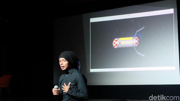 Venzha Christ Satu-satunya Orang Indonesia yang Latihan Mars <i>Society</i>