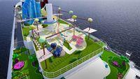 Balkon kapal pesiar Cartoon Network