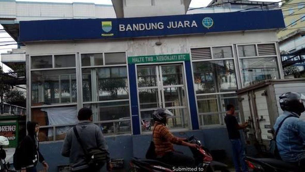 Tidak Beroperasi, Halte Bus di Bandung Beralih Fungsi Jadi Hotel