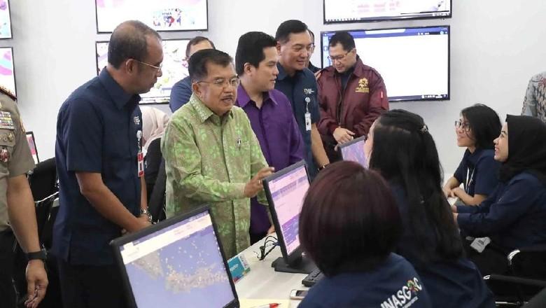 Mengenal Ruang Kendali dan Monitor Asian Games 2018