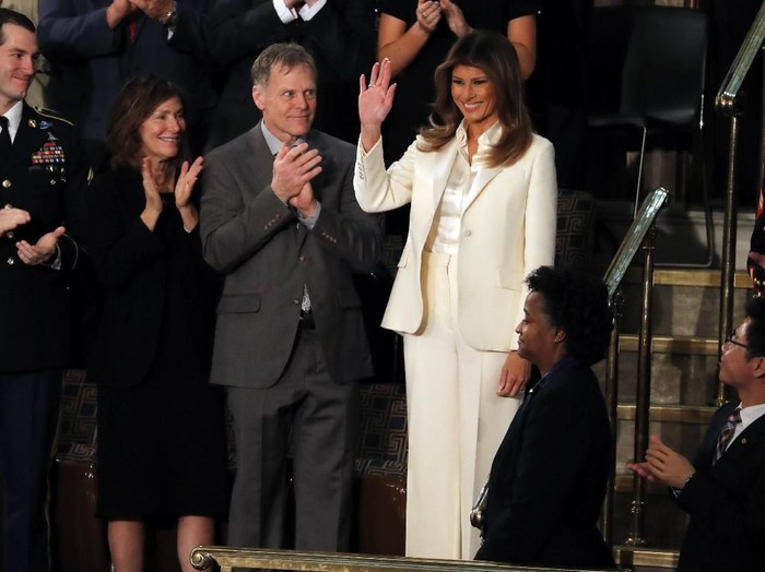 Ibu Negara AS Melania Trump jalani operasi ginjal. Foto: REUTERS/Leah Millis