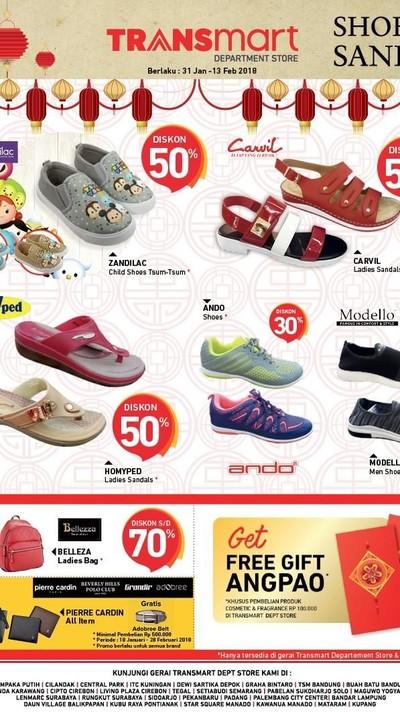 Serbu Sepatu dan Sandal dengan Diskon Spesial hingga 50% di Transmart! 6756cd45c2