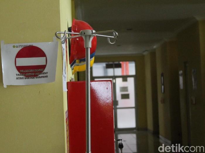 Ruang Isolasi Pasien Difteri RSUD Garut/Foto: Hakim Ghani