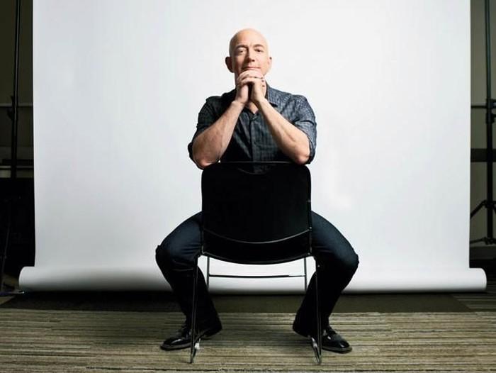 Jeff Bezos orang terkaya di dunia 2018. Foto: Istimewa