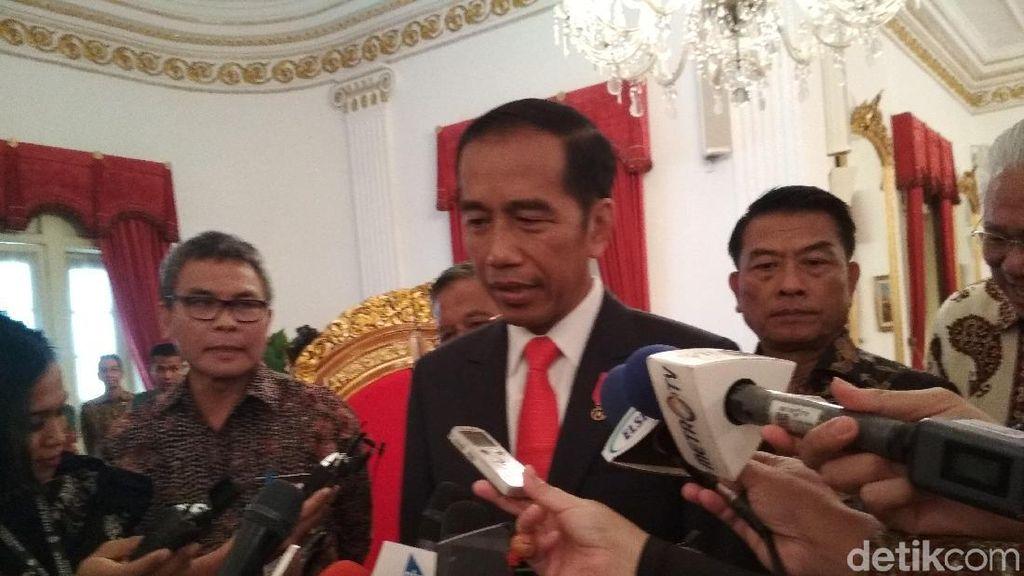 Jokowi: Enggak Usah Ikut Pameran Kalau Dapatnya Dekat Kamar Kecil