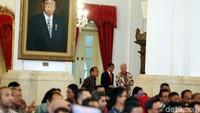 Raker diawali dengan laporan pencapaian kinerja sektor perdagangan oleh Enggartiasto Lukita.