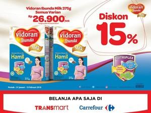 Tambah Kalsium Calon Ibu dengan Promo Susu Hamil di Transmart
