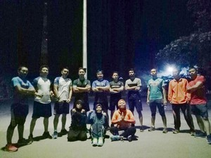 Sambut Gerhana, Komunitas Runners Gelar Run 6 K Go to the Moon