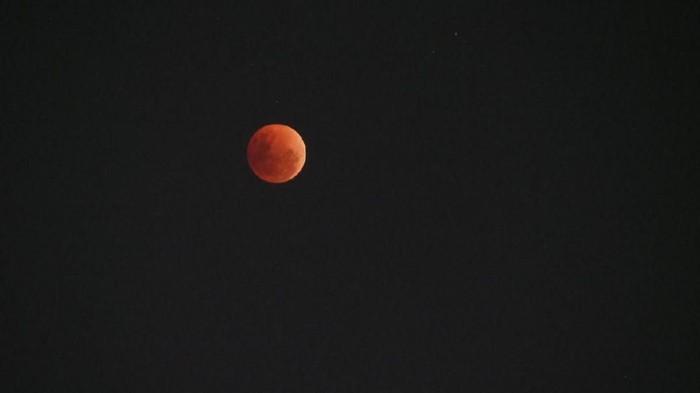 Gerhana Bulan. Foto: (dok Kemenpar)