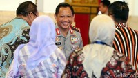 Kapolri Jenderal Tito Karnavian juga hadir dalam acara tersebut.
