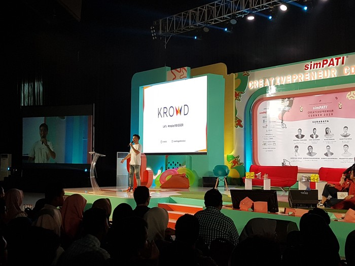 Vidi Aldiano di panggung. Foto: Fino Yurio Kristo/detikcom