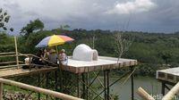 Suasana Desa Wisata Kandri (Angling/detikTravel)