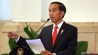 Presiden Jokowi mengungkapkan, nilai ekspor Thailand pada tahun lalu sebesar US$ 231 miliar, Malaysia US$ 184 miliar, dan Vietnam sebesar US$ 160 miliar. Sedangkan Indonesia hanya sebesar US$ 145 miliar.