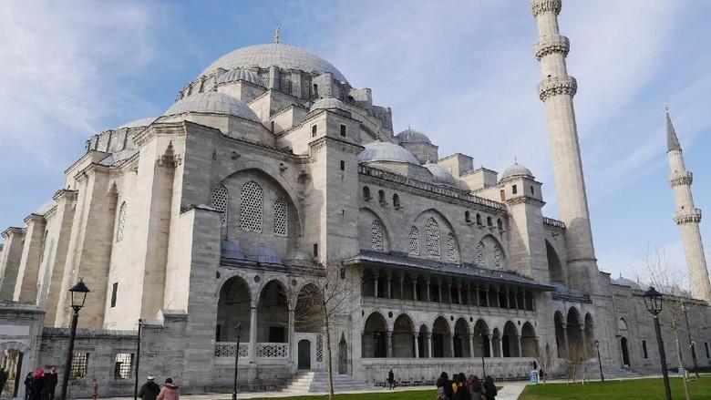 Foto: Masjid Suleymaniye di Istanbul (Kurnia/detikTravel)