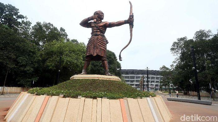 Kawasan GBK Senayan, Jakarta (Rengga Sancaya/detikSport)
