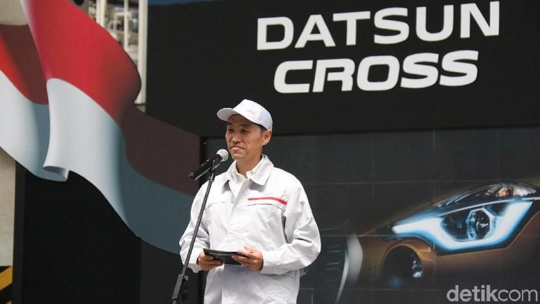 Eiichi Koito, Presiden Direktur, PT Nissan Motor Indonesia. Foto: Nissan Motor Indonesia