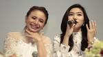 Kilauan Pesona Duo Cantik, Isyana dan Raisa