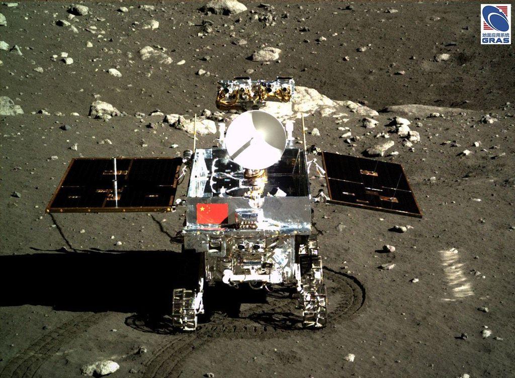 Yutu merupakan sebuah rover yang menjadi bagian dari misi Change 3 ke Bulan. (Foto: Internet)