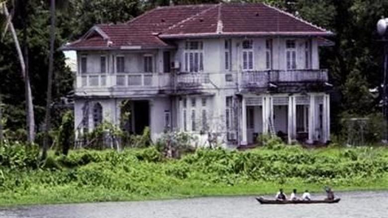 Foto: Ini Rumah Suu Kyi di Tepi Danau yang Dilempar Bom Molotov