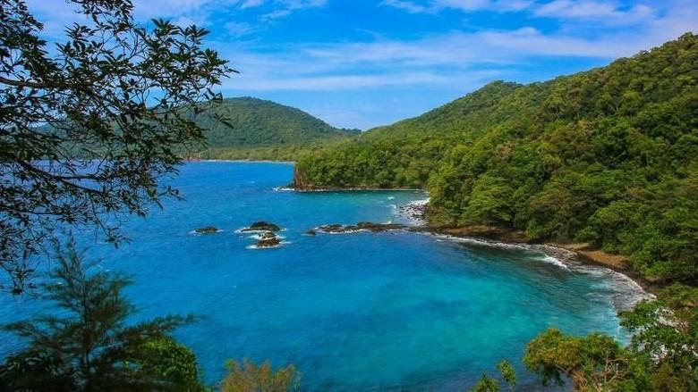 Lautan yang indah di Sabang (ivonesuryani/dTraveler)