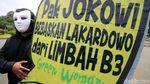 Aksi Tuntut Pemulihan Lahan Lakardowo Jatim