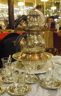 Teko teh yang unik (Kurnia/detikTravel)