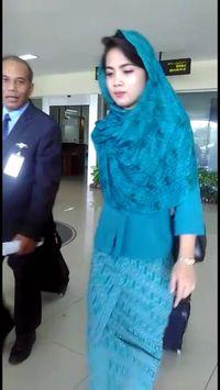 Pasca SK Bupati, Pramugari Garuda Rute Aceh Mulai Berkerudung