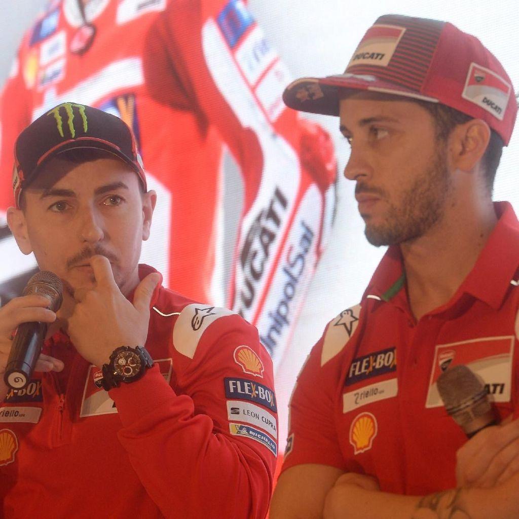 Ini Komentar Lorenzo soal Kontrak Baru Dovizioso dengan Ducati