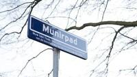 Pejuang hak asasi manusia Munir Said Thalib Al-Kathiri ditabalkan namanya menjadi nama jalan di Den Haag. Munirpad diresmikan pada 14 April 2015. (Google Maps)