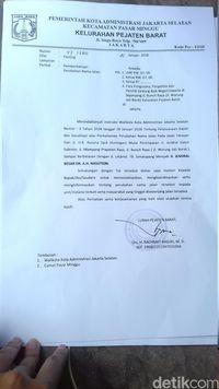 Warga Mulai Terima Surat Edaran Pergantian Nama Jl Ah Nasution