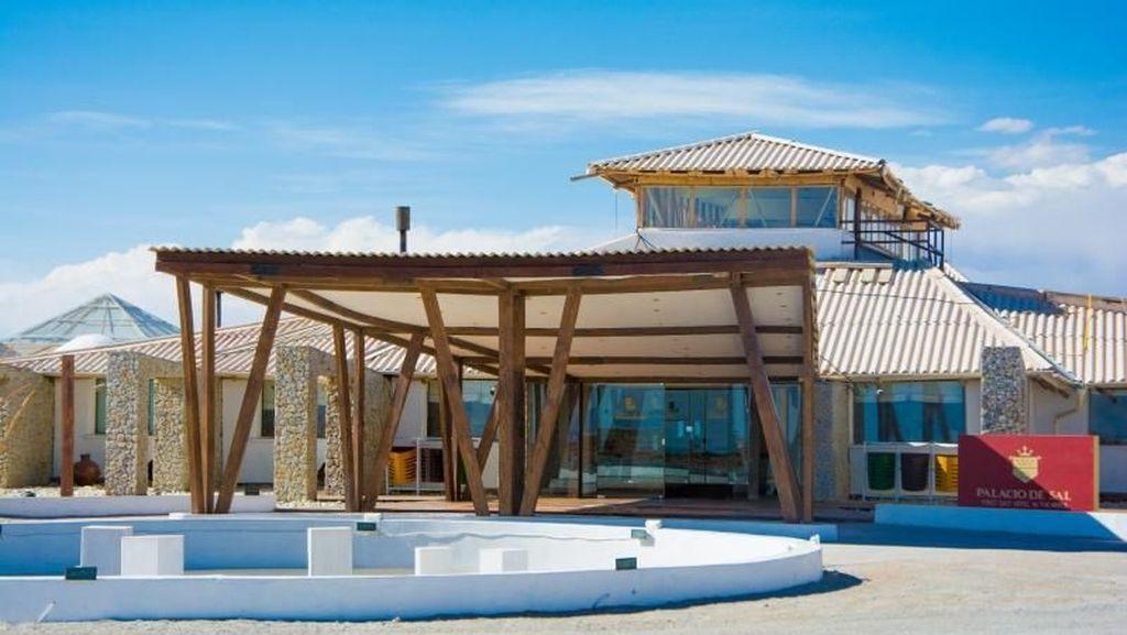 Unik, Hotel di Bolivia Dibuat Dari 10 Ribu Ton Garam