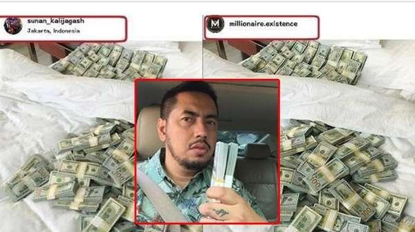 Miley Cyrus Makin Nakal, Sunan Kalijaga Diduga Nyatut Foto Tumpukan Dollar