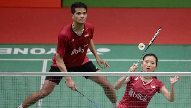 Ricky/Debby Tembus Perempatfinal Indonesia Open 2018