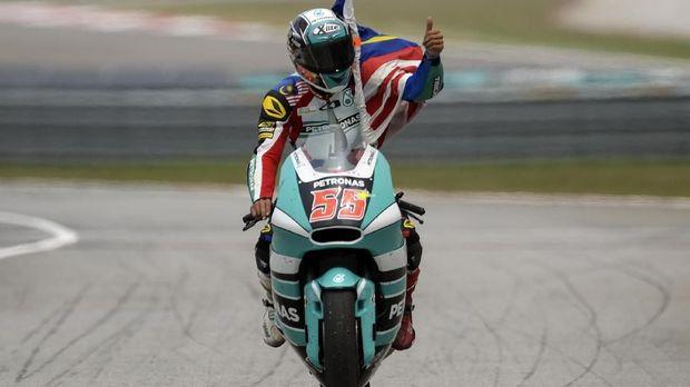 Hafizh Syahrin merupakan pebalap Asia Tenggara pertama yang tampil di MotoGP.