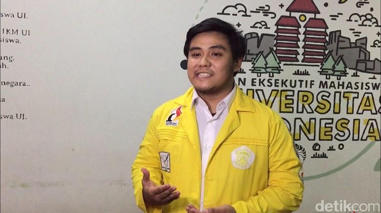 Ketua BEM UI Zaadit Taqwa Luruskan Salah Paham Tweet Promosi PKS
