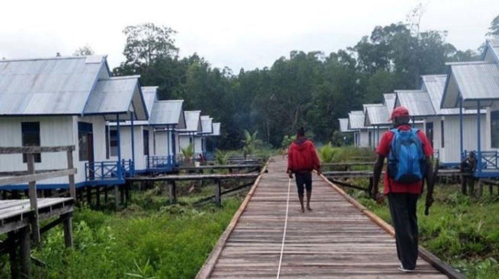 Buka Akses ke Asmat, Jokowi Bangun 2 Ruas Jalan Trans Papua