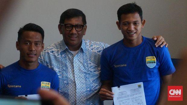 Persib Bandung terus memperkuat tim jelang Liga 1 2018.
