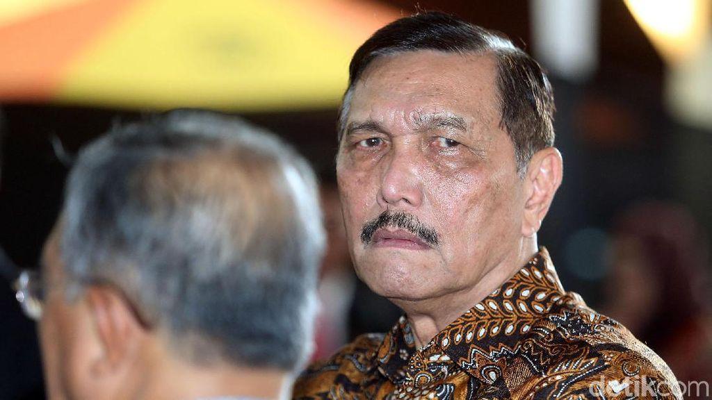 Luhut soal Tudingan Proyek LRT Di-Mark Up: Kasihan Pak Prabowo