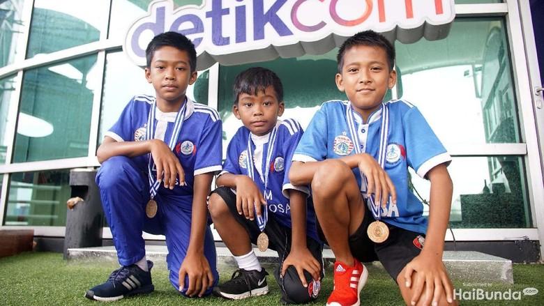 Impian Anak-anak Nelayan untuk Jadi Pemain Timnas Sepakbola/ Foto: Rachman Haryanto