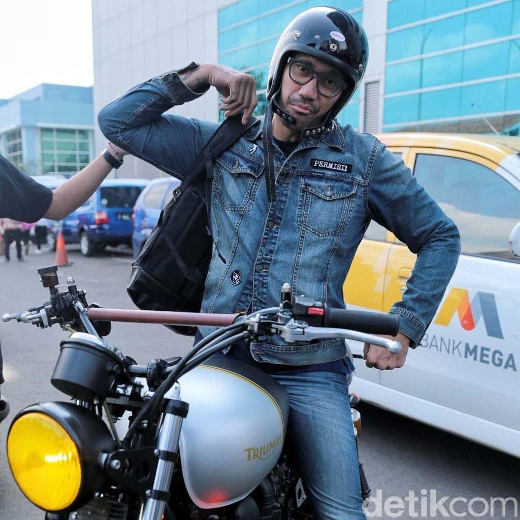 Waduh! Mieke Amalia Ngambek ke Tora Sudiro Gara-gara Motor Harley Davidson