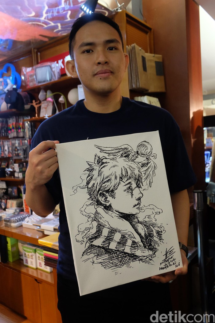 ilustrator buku harry potter edisi indonesia kaget