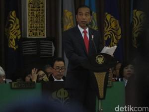 Jokowi: UI Penyumbang Terbanyak Menteri di Kabinet Kerja