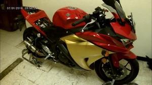 Iron Man Look Yamaha YZF R25