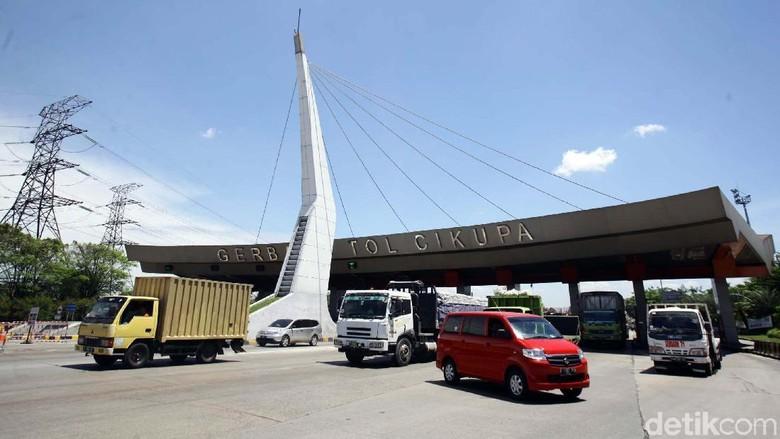 Truk yang Kelebihan Muatan Bakal Diusir dari Tol Tangerang-Merak Foto: dok. detikcom