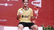 Foto: Gaya Hidup Sehat Anthony Ginting, Juara Indonesia Masters 2018
